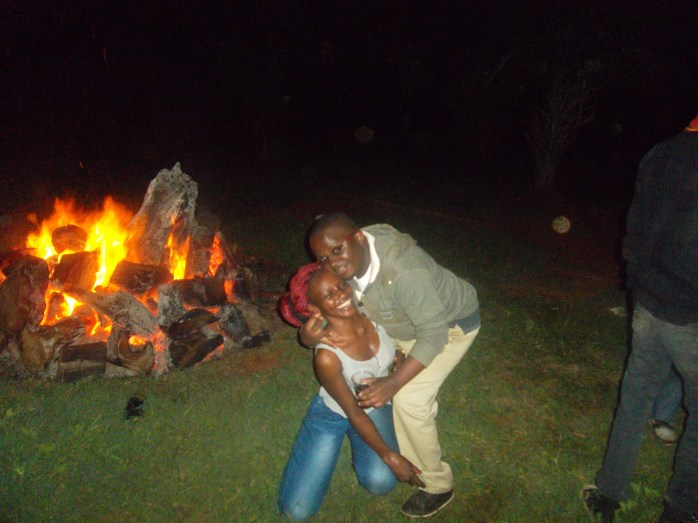 Carol Njiru and I @ Bush party Season 3